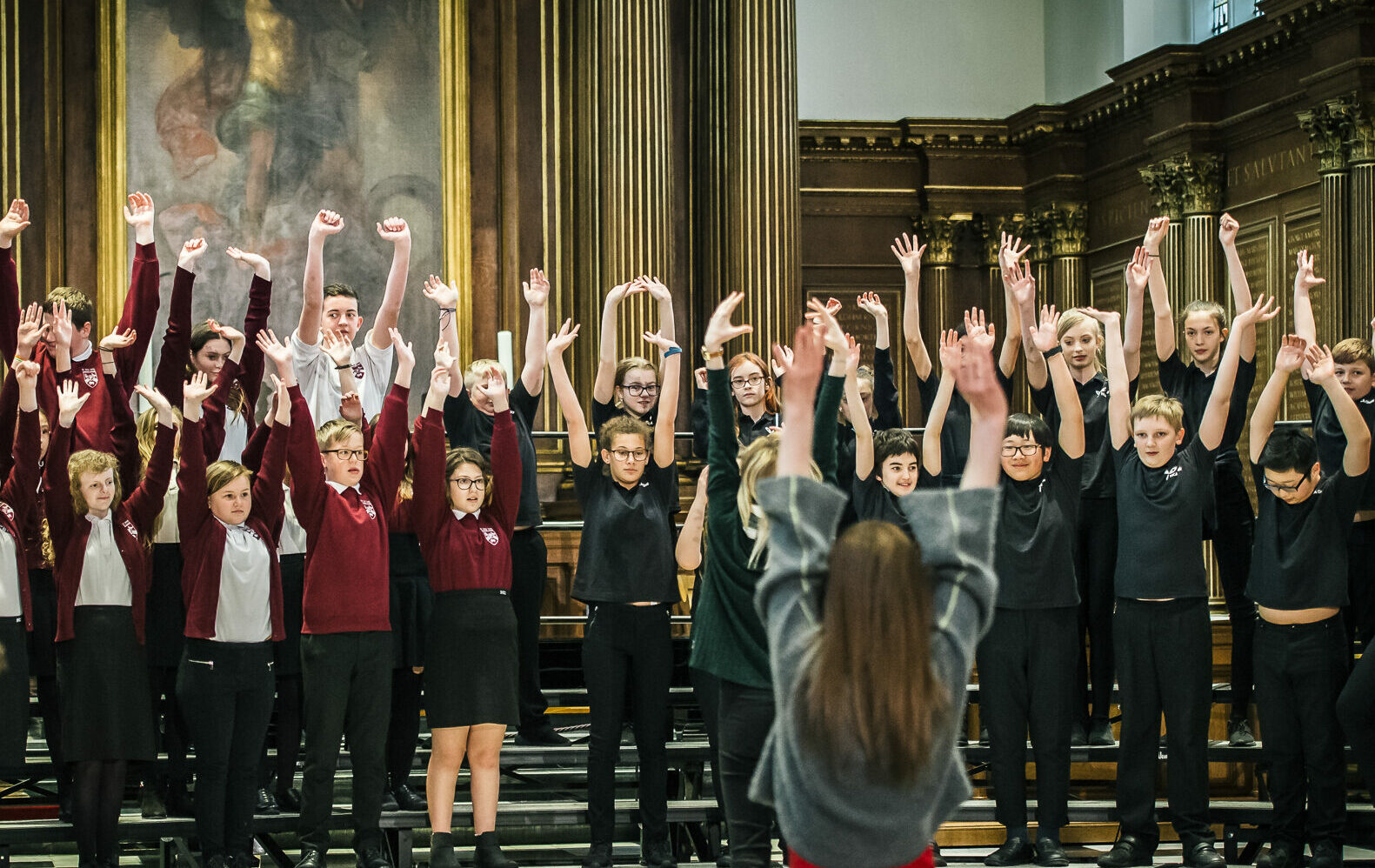 Roots Education Project Voces8 Cambridge Early Music