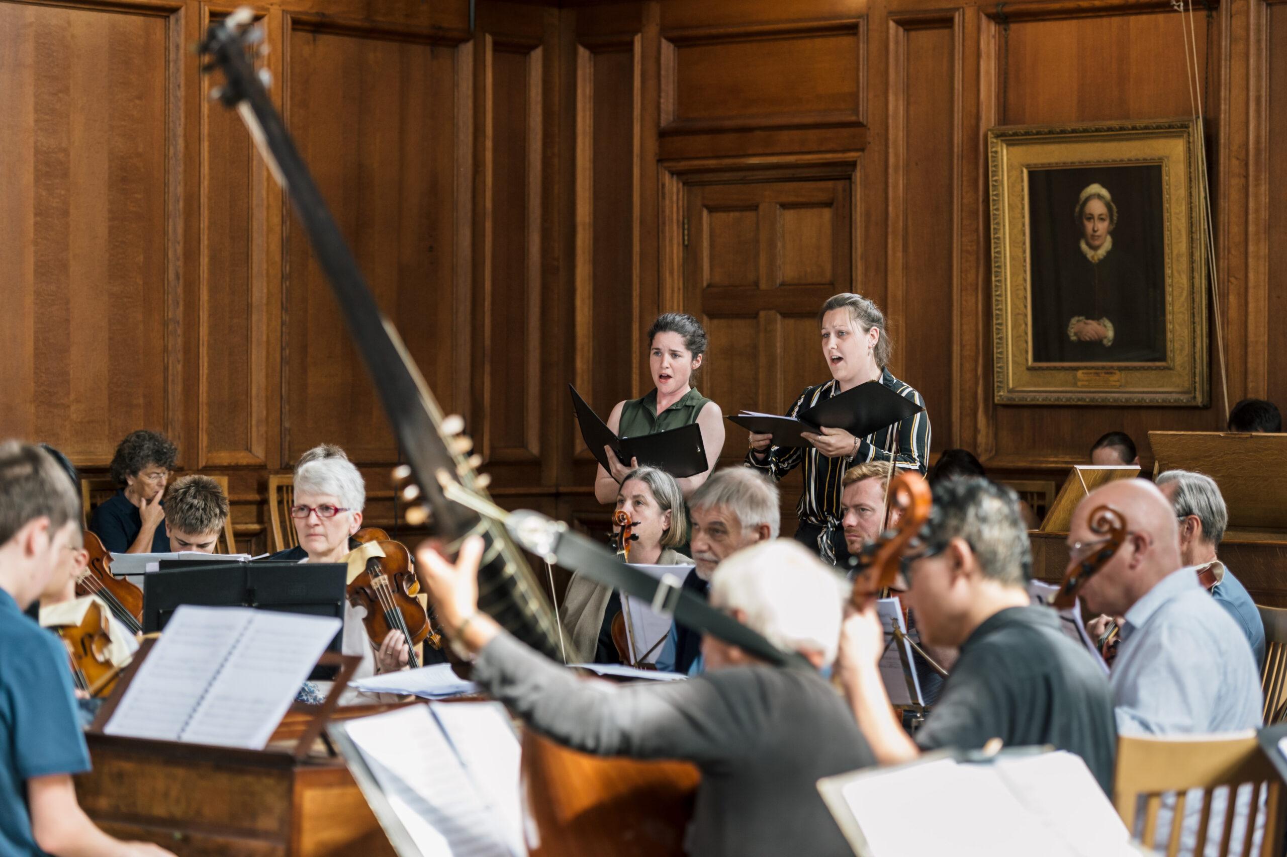 Baroque Summer School concert at Girton College 2019, Cambridge