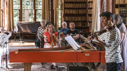 BAROQUE Summer School harpsichord violin Judy Tarling